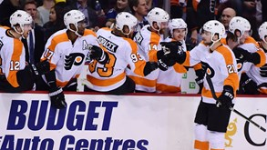 Philadelphia Flyers-Detroit Red Wings: NHL ao rubro