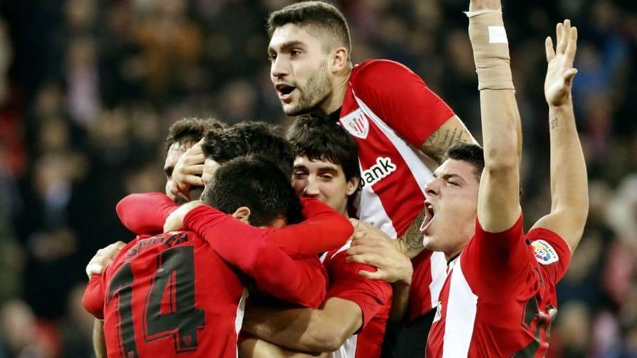 Athletic Bilbao soma segunda vitória no campeonato - Espanha ... 7947b33a3bf84