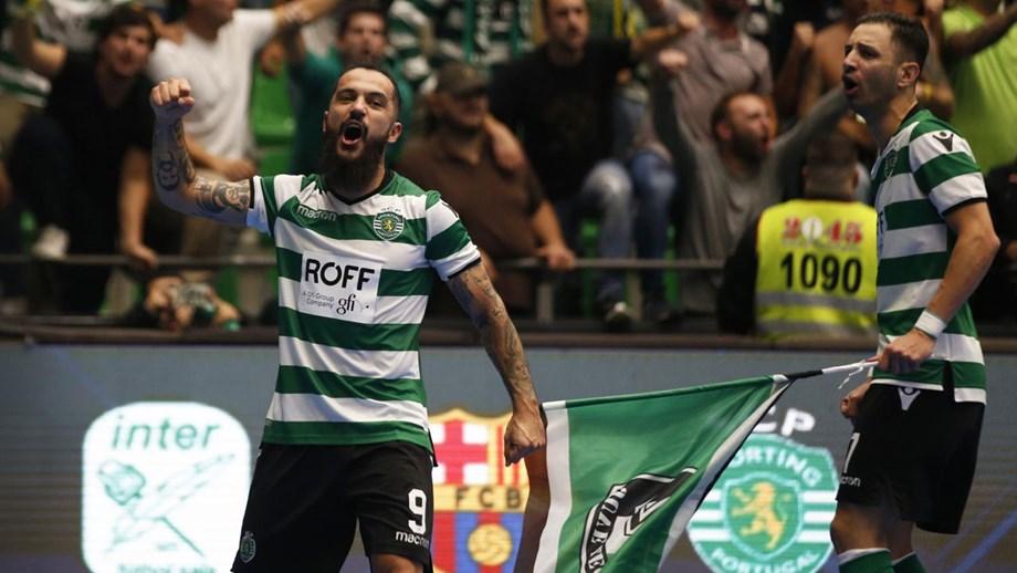 Sporting inicia defesa da Taça de Portugal de futsal no pavilhão do  Eléctrico 3a37773a5b97c