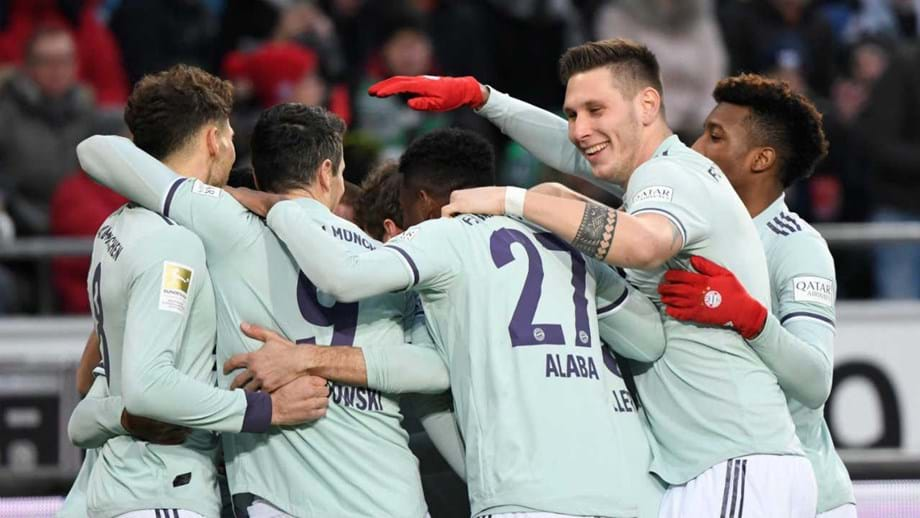 Bayern goleia em Hannover e iguala Mönchengladbach no segundo lugar 09ef284a806fc