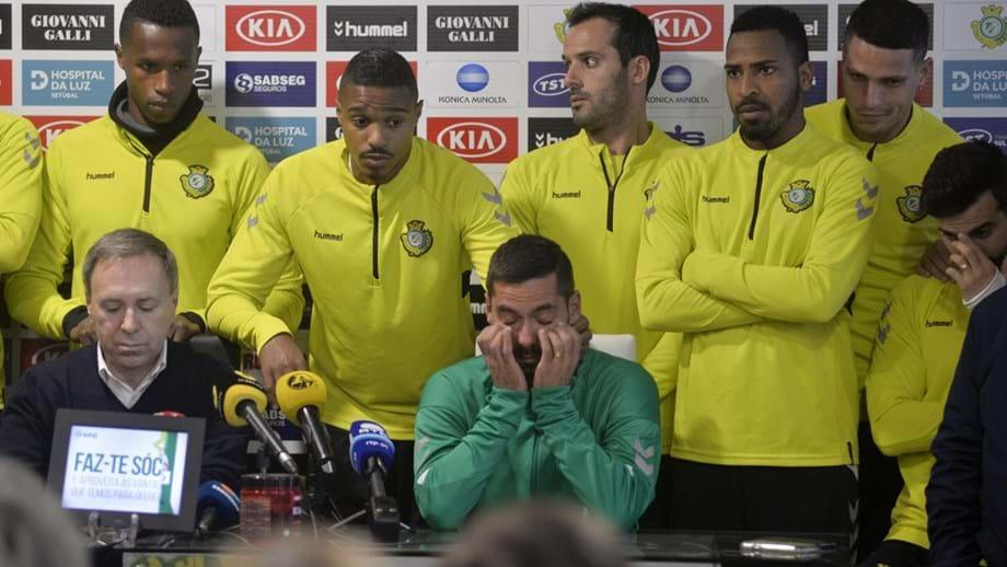 813723a126 Sporting deixa mensagem de apoio a Nuno Pinto - Sporting - Jornal Record