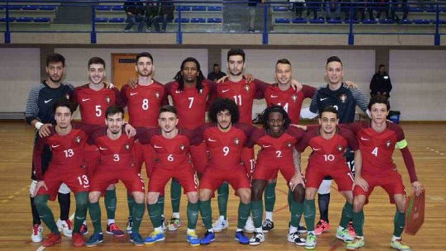 4060a16e0db3a Sub-21 portugueses voltam a perder com a Espanha - Futsal - Jornal ...