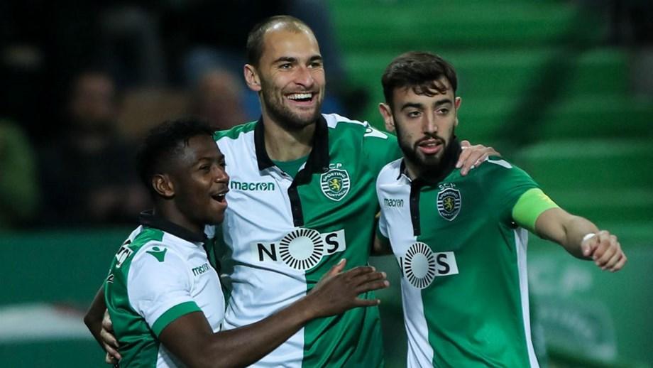 Sporting goleia e está nos  quartos  da Taça de Portugal - Taça de ... bfdec7f5010a7
