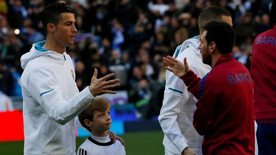Messi  «Qualquer equipa sentiria falta de Cristiano Ronaldo ... 262e5698a6b06