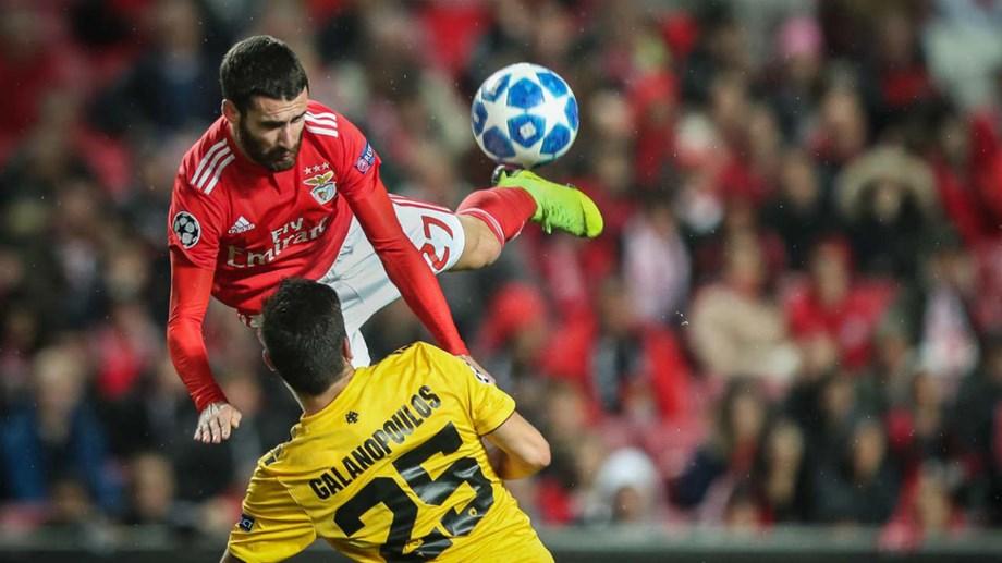 Benfica venceu hoje o AEK e será cabeça de série nos 16 avos da Liga Europa Sporting  já ... 452d9f66c79d8