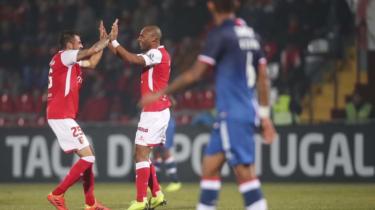 3f4aa6ac91 Sp. Braga coloca Aves fora da Taça de Portugal - Taça de Portugal ...