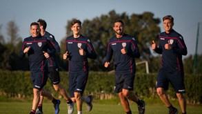 Cagliari-Atalanta: Joga-se a presença nos 'quartos' da Taça