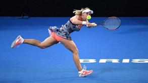 Lesia Tsurenko-Amanda Anisimova: Em ação no Open da Austrália
