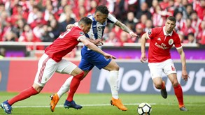 Benfica-FC Porto: Clássico em Braga pára o país