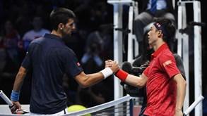 Novak Djokovic-Kei Nishikori: Luta pelas 'meias' na Austrália