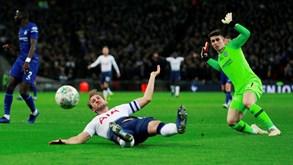 Chelsea-Tottenham: Dérbi vale um lugar na final da Taça da Liga