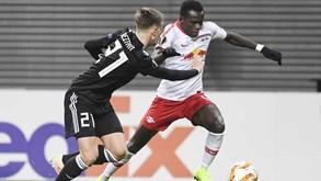 Hannover-RB Leipzig: Bruma procura novo triunfo