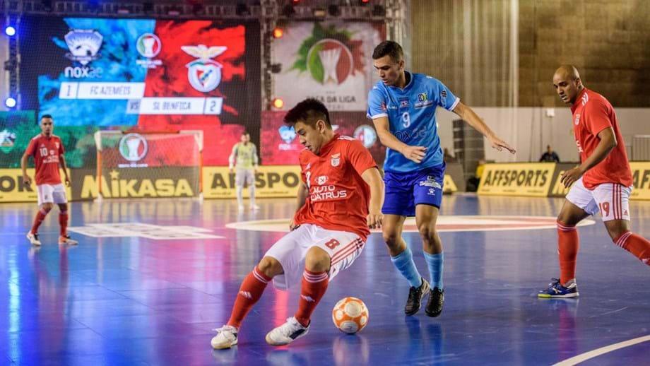 Benfica goleia Futsal Azeméis e garante passagem às meias-finais da ... bb202d2ad982a