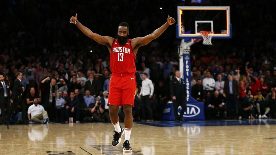 4a6137196e4 James Harden leva 21 jogos seguidos com 30 ou mais pontos - NBA ...