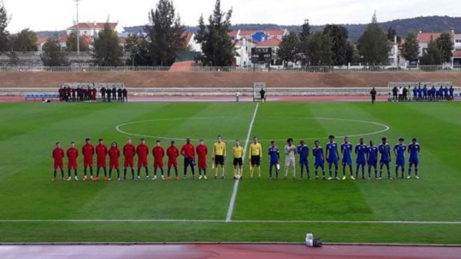 Portugal vence Cabo Verde em jogo de preparação - Sub19 - Jornal Record 24403cd1ca25a