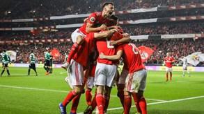 Benfica derrota Sporting na 1.ª mão das 'meias' da Taça de Portugal