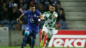 Moreirense-FC Porto: Dragões abrem jornada em Moreira de Cónegos