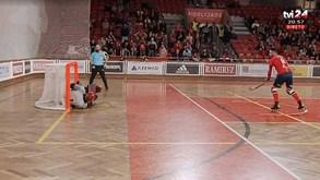 Golo invalidado à Oliveirense diante do Benfica gera enorme polémica