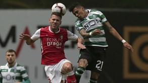 Sporting-Sp. Braga: Espetáculo marcado para Alvalade