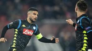 Nápoles-Torino: Napolitanos querem repetir primeira volta