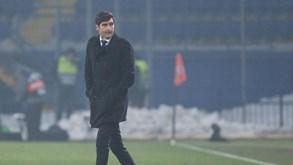 Eintracht Frankfurt-Shakhtar Donetsk: Paulo Fonseca tenta vencer na Alemanha