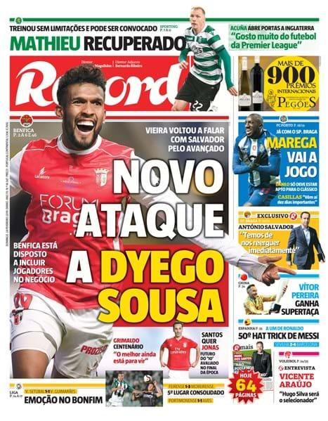 Sporting foi vencer ao terreno do Sp. Braga - Futsal - Jornal Record d47cdde65cd34