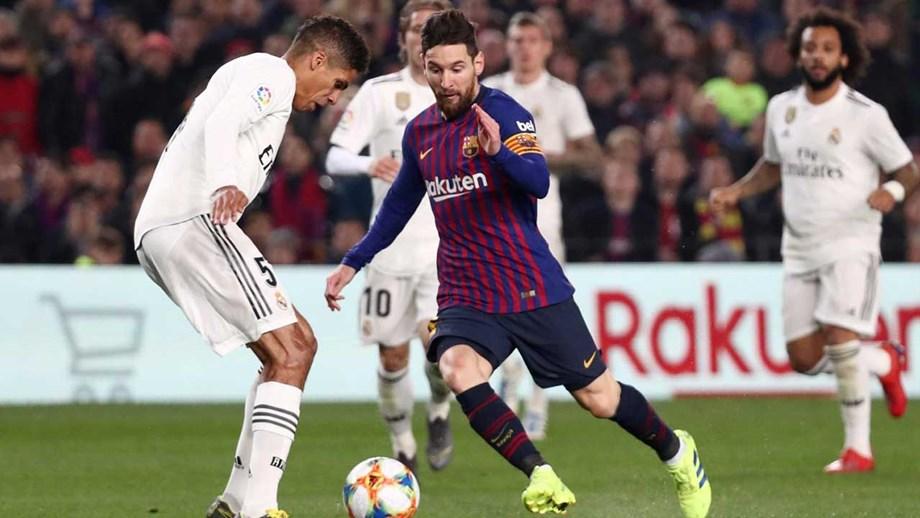 aa9737465e89c Clássico da Taça do Rei entre Barcelona e Real Madrid acaba em ...