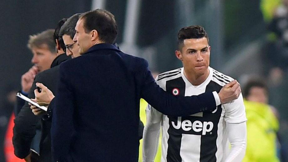 Allegri  «Ronaldo é o melhor do Mundo e transmite serenidade no balneário» 54e9c43c4cfba