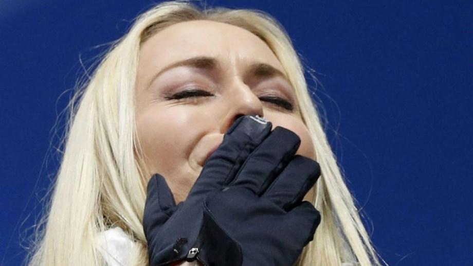 Lindsey Vonn anuncia adeus às pistas  «O meu corpo está gasto e não tem  recuperação». Norte-americana ... c60c399af8c