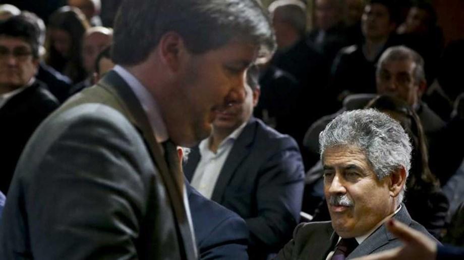 Bruno de Carvalho e a relação com o presidente do Benfica