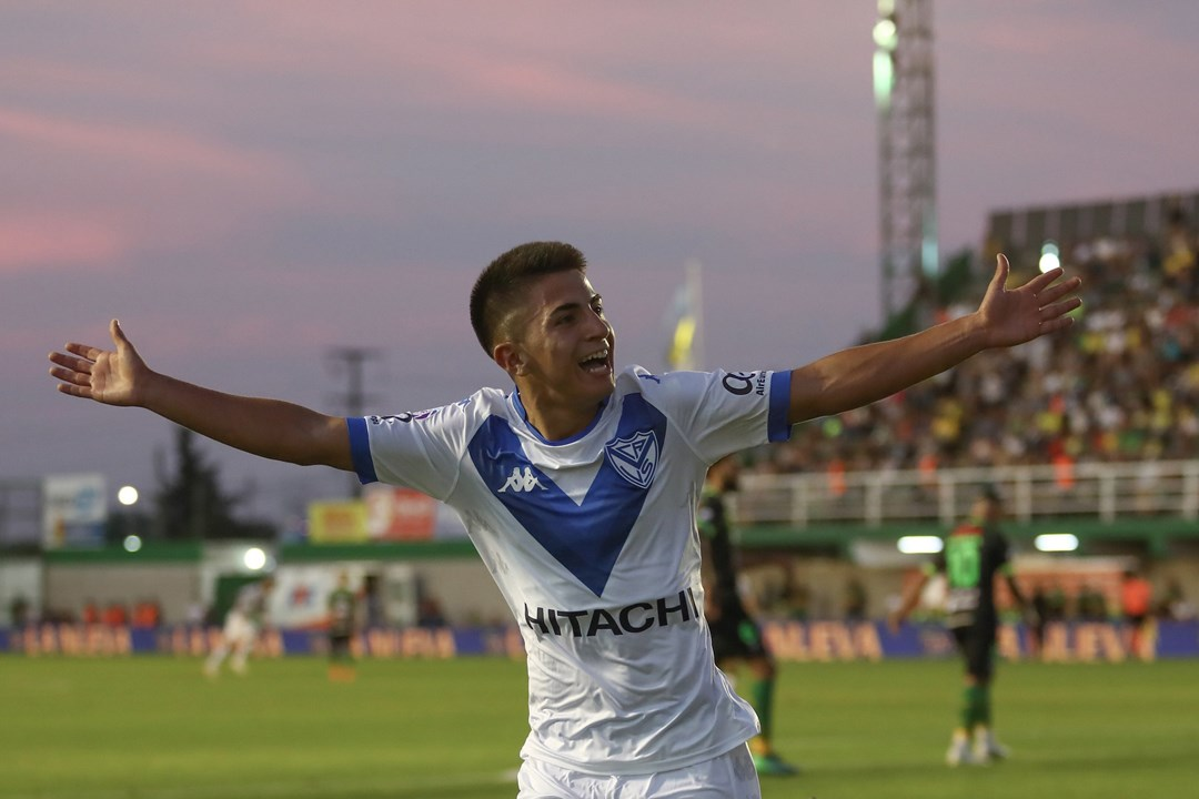 41º. Thiago Almada, 17 anos, Avançado (Vélez Sarsfield)