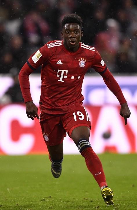 6º. Alphonso Davies, 18 anos, Médio (Bayern Munique)