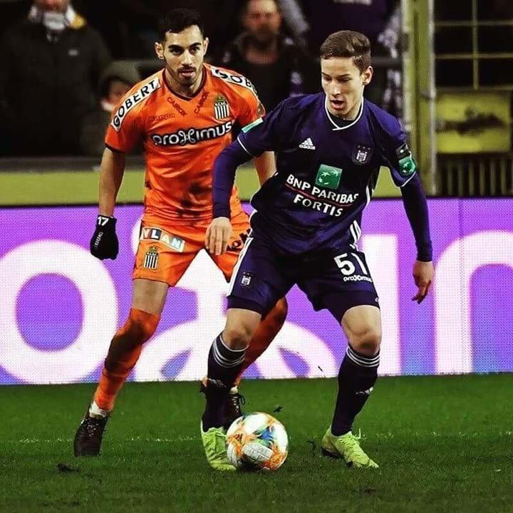 48º. Yari Verschaeren, 17 anos, Médio (Anderlecht)