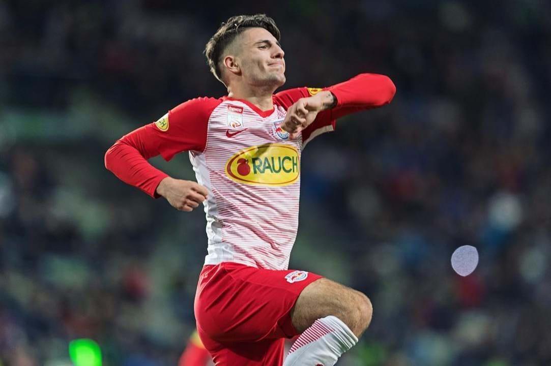 21º. Dominik Szoboszlai, 18 anos, Médio (Red Bull Salzburg)