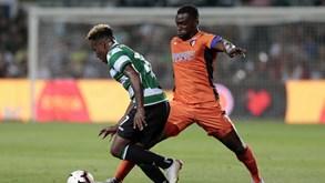 Sporting-Portimonense: Leão procura manter-se na corrida pelo pódio