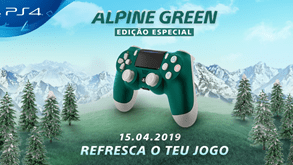 PlayStation revela comando Alpine Green