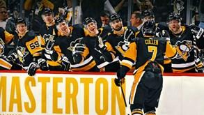 Pittsburgh Penguins-Nashville Predators: NHL pela noite dentro