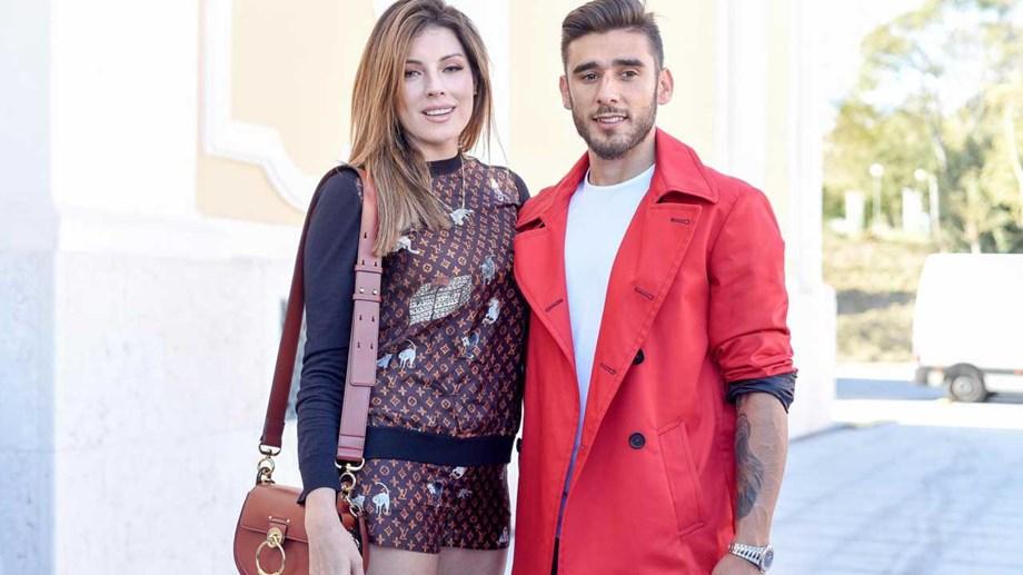 8912ede03dbdb Salvio já pede o terceiro filho. Jogador do Benfica e Magali Aravena  revelam vontade de aumentar a família
