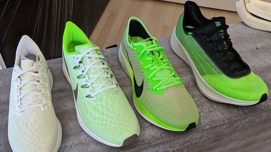 Nike Pegasus. As Pegasus Turbo e as Pegasus 36 em destaque