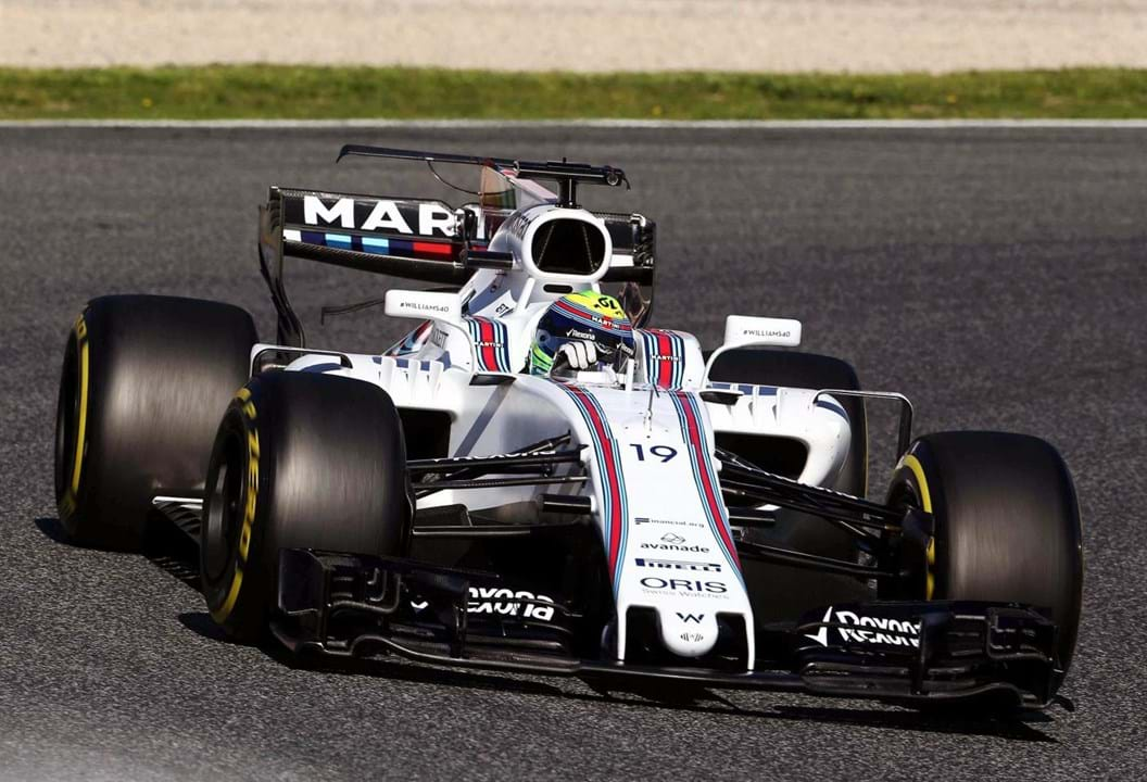 Felipe Massa terminou a carreira na Williams