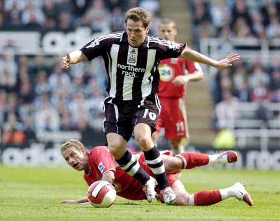 Michael Owen (Newcastle, 2005): 25 M€