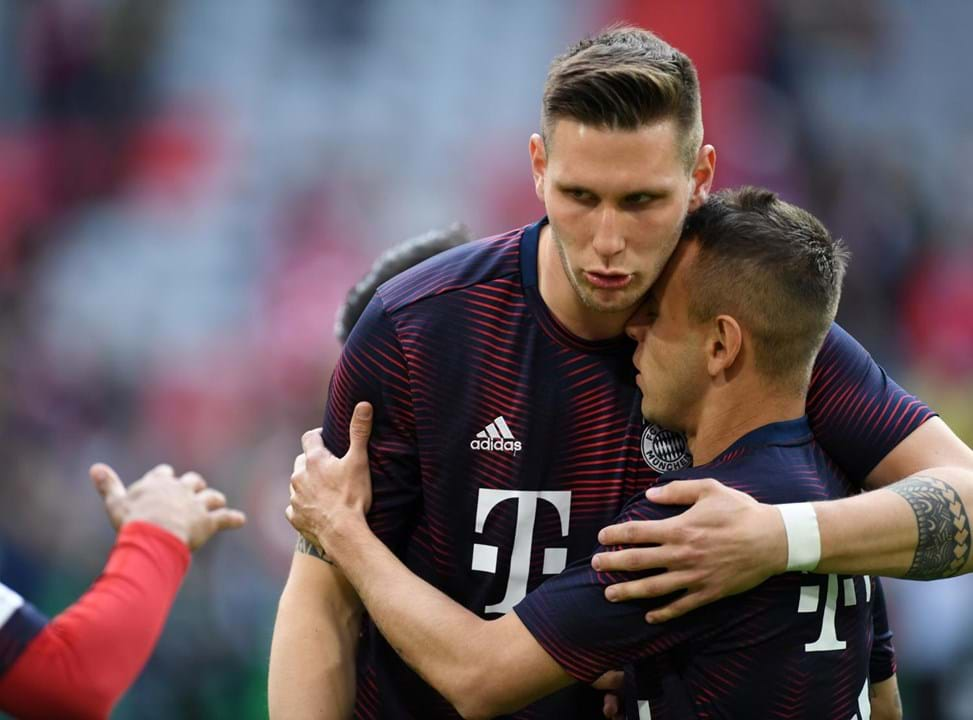 13.º - Niklas Süle, Bayern Munique. 78,9%