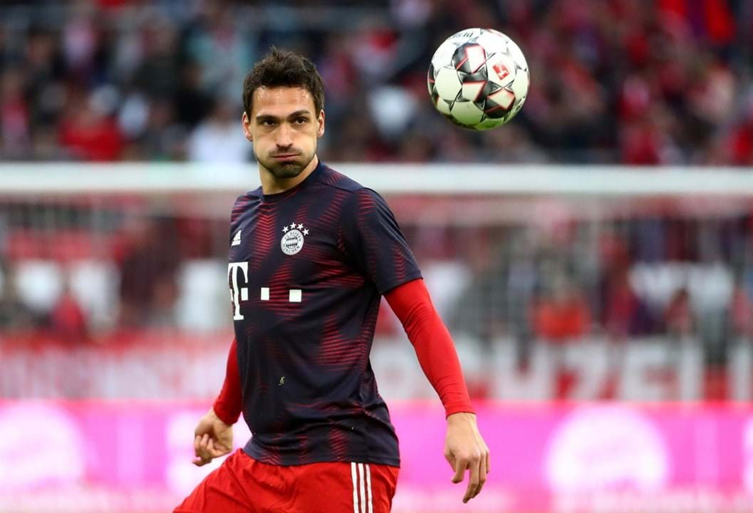8.º - Hummels, Bayern Munique. 80,5%