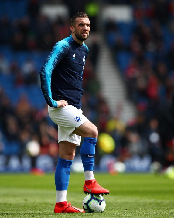 4.º - Shane Duffy, Brighton. 83,1%