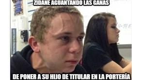 Memes do Valencia-Real Madrid fazem de Zidane a principal vítima
