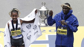 Worknesh Degefa e Lawrence Cherono vencem Maratona de Boston