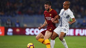 Inter Milão-Roma: Duelo com vista milionária