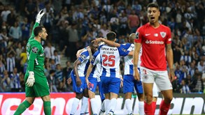 A crónica do FC Porto-Santa Clara, 1-0: No limite do esforço