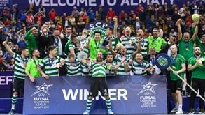 Sporting vence Liga dos Campeões de futsal