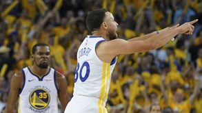 Golden State Warriors-Houston Rockets: Basquetebol ao mais alto nível